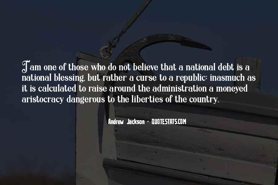 Andrew Jackson Quotes #198146
