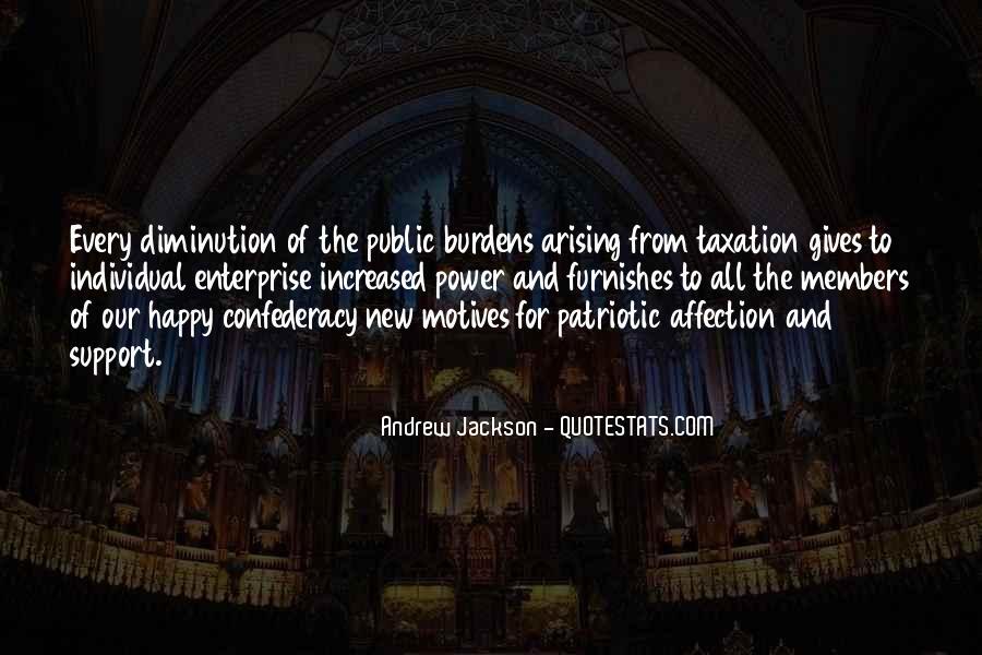 Andrew Jackson Quotes #330566