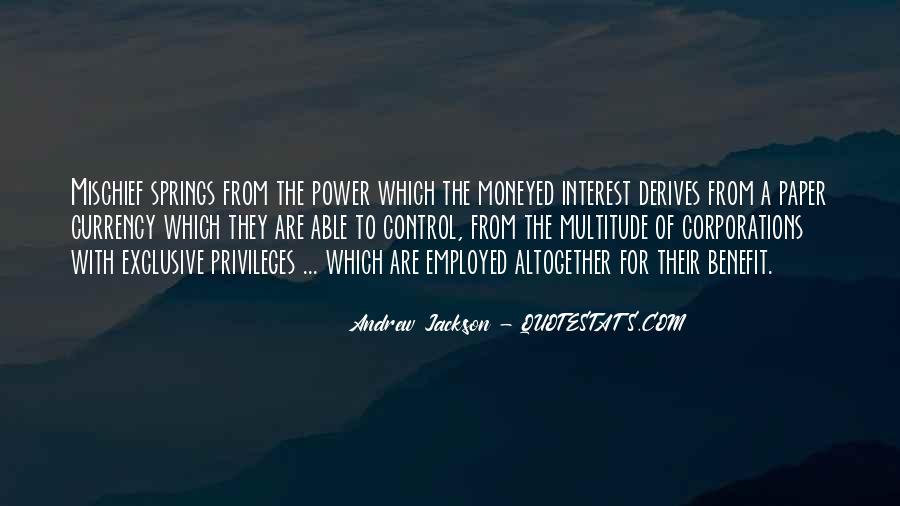 Andrew Jackson Quotes #369612