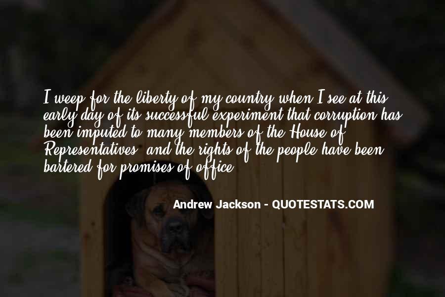 Andrew Jackson Quotes #460252