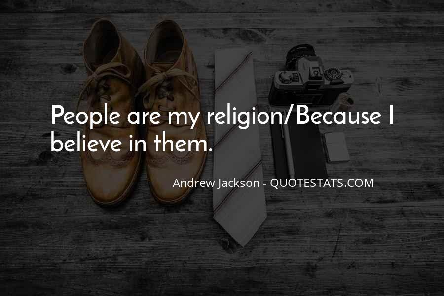 Andrew Jackson Quotes #609174