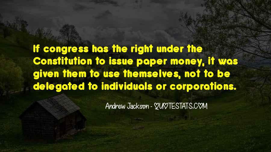 Andrew Jackson Quotes #652045