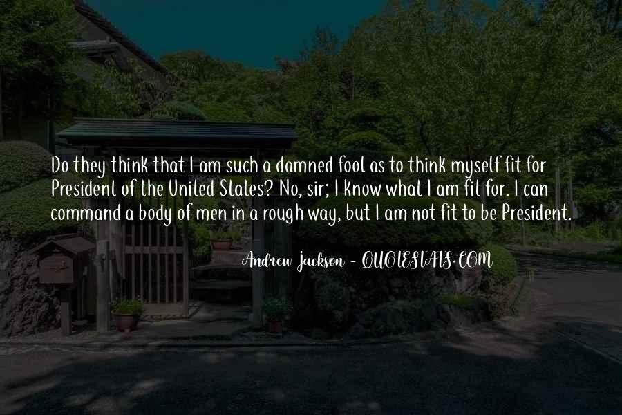 Andrew Jackson Quotes #71566