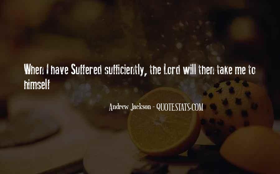 Andrew Jackson Quotes #780756