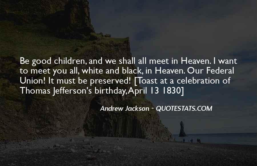 Andrew Jackson Quotes #872434