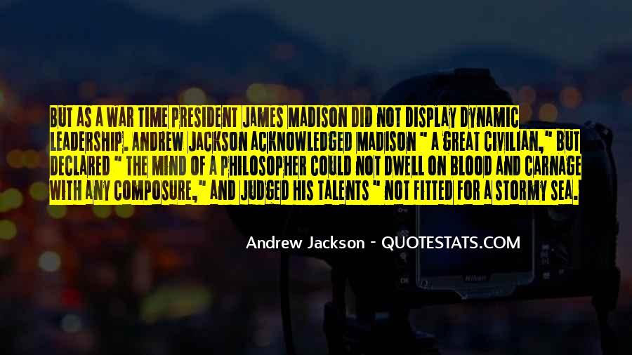 Andrew Jackson Quotes #886529