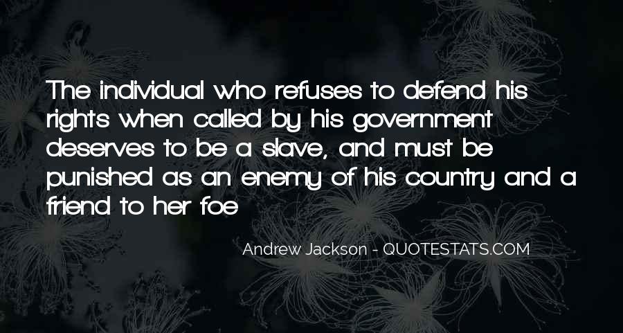 Andrew Jackson Quotes #986948