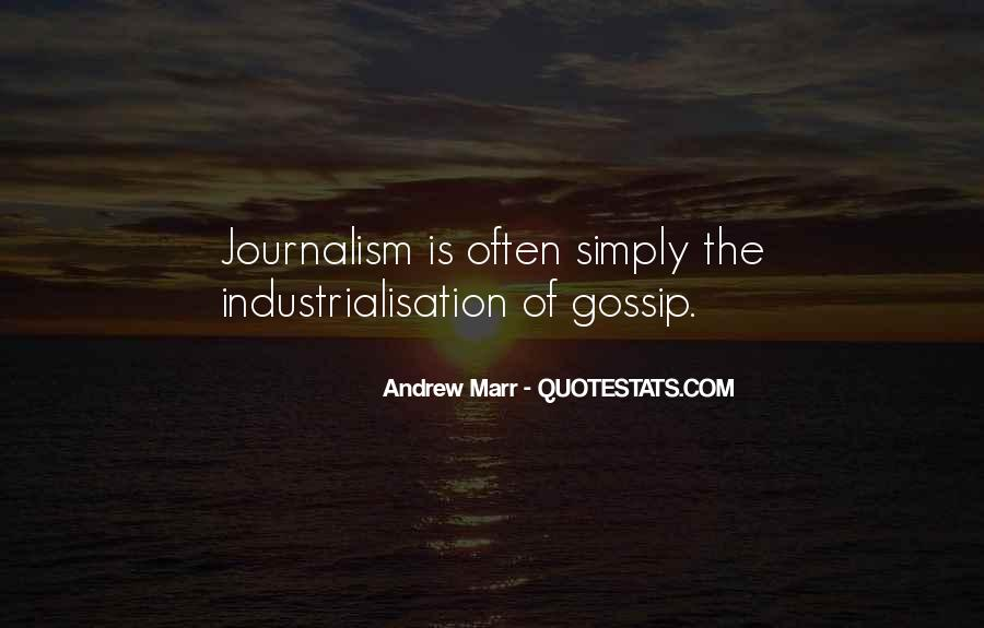 Andrew Marr Quotes #1850961