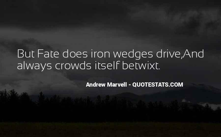 Andrew Marvell Quotes #108420