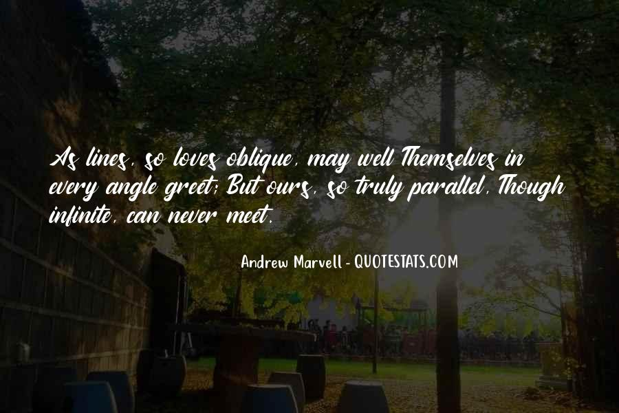 Andrew Marvell Quotes #1140430