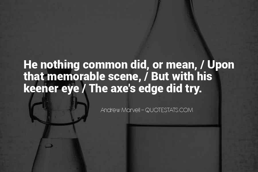 Andrew Marvell Quotes #163606