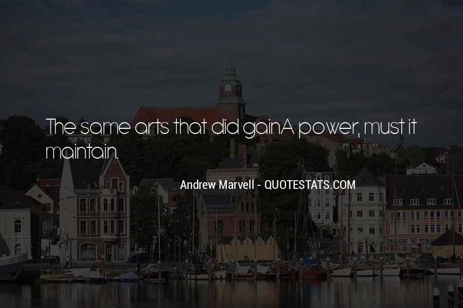 Andrew Marvell Quotes #1720650