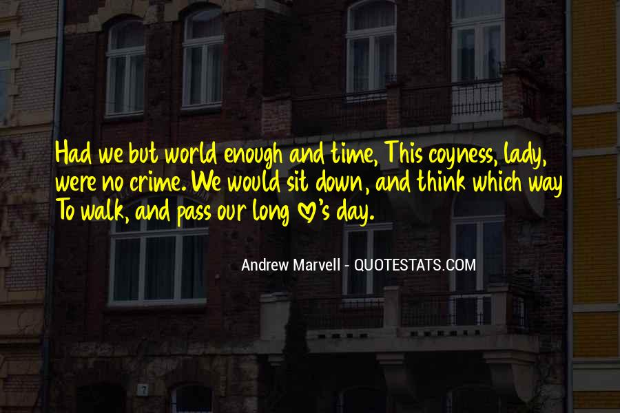 Andrew Marvell Quotes #226835