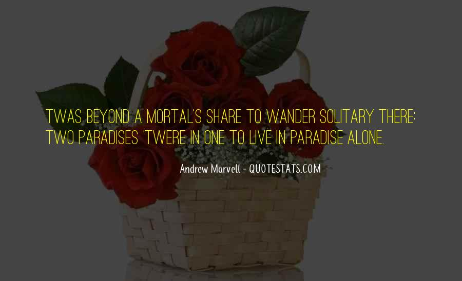 Andrew Marvell Quotes #337177