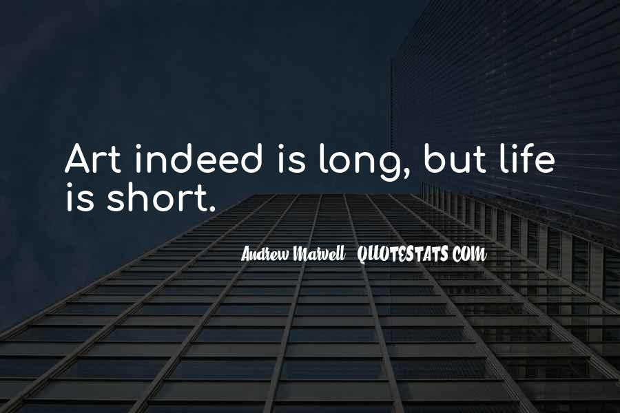 Andrew Marvell Quotes #400910