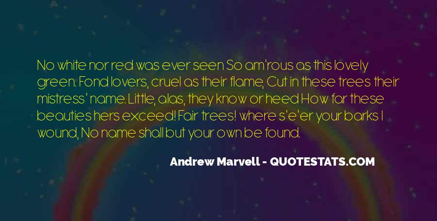 Andrew Marvell Quotes #477029