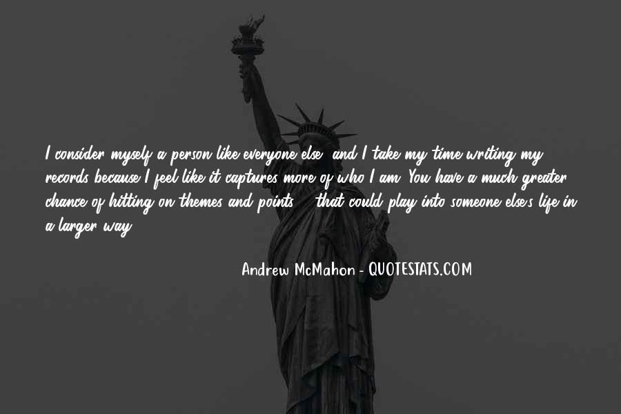 Andrew McMahon Quotes #198582