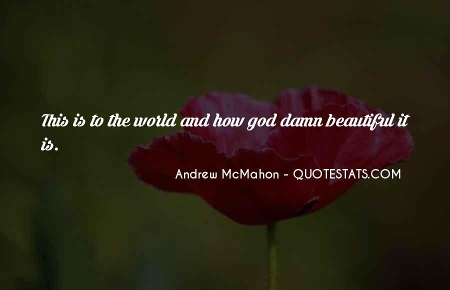 Andrew McMahon Quotes #557624