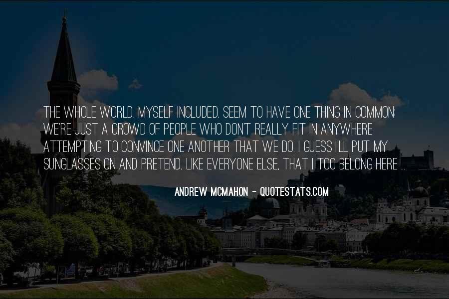 Andrew McMahon Quotes #947524