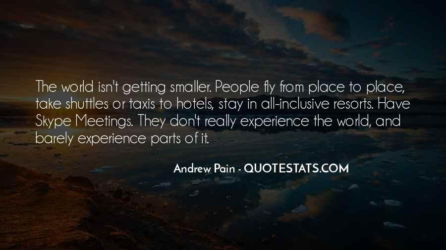 Andrew Pain Quotes #579493