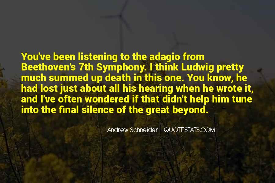 Andrew Schneider Quotes #365535