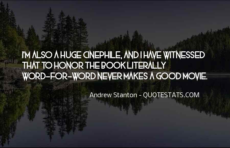 Andrew Stanton Quotes #1310105