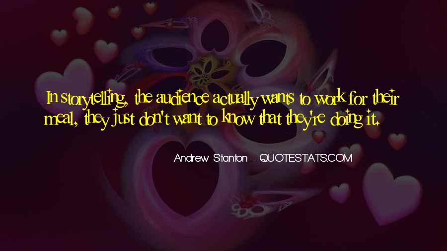 Andrew Stanton Quotes #1388934