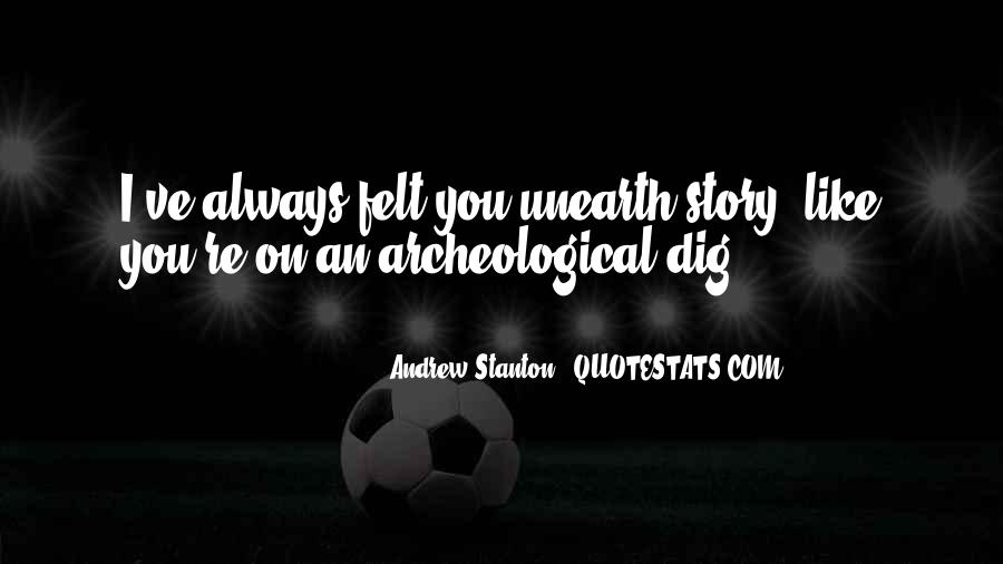 Andrew Stanton Quotes #18317
