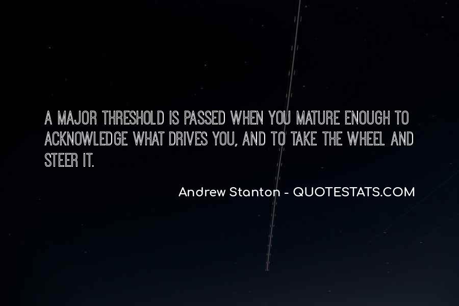 Andrew Stanton Quotes #496203