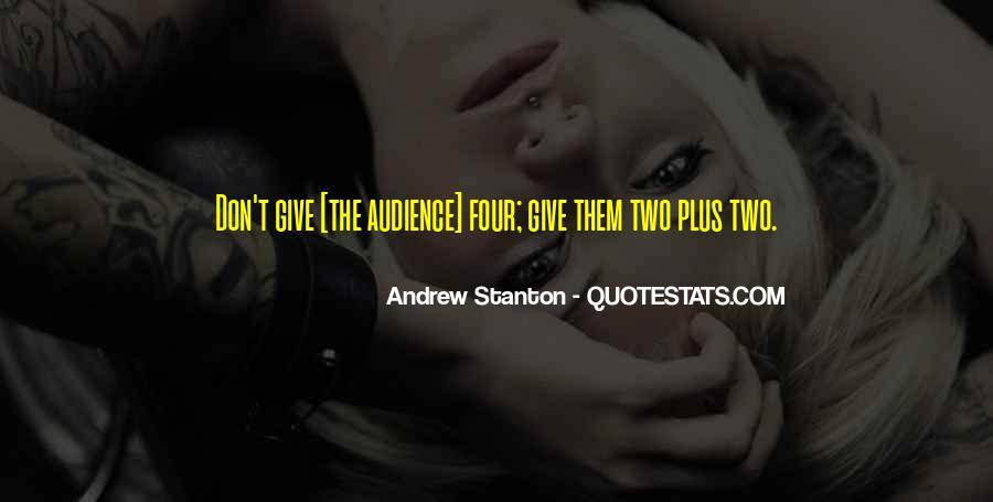 Andrew Stanton Quotes #563156