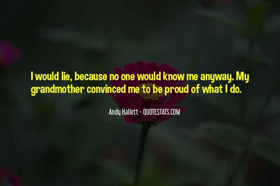 Andy Hallett Quotes #551348