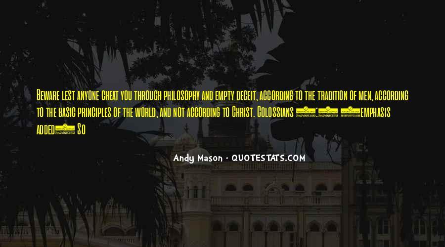 Andy Mason Quotes #1278298