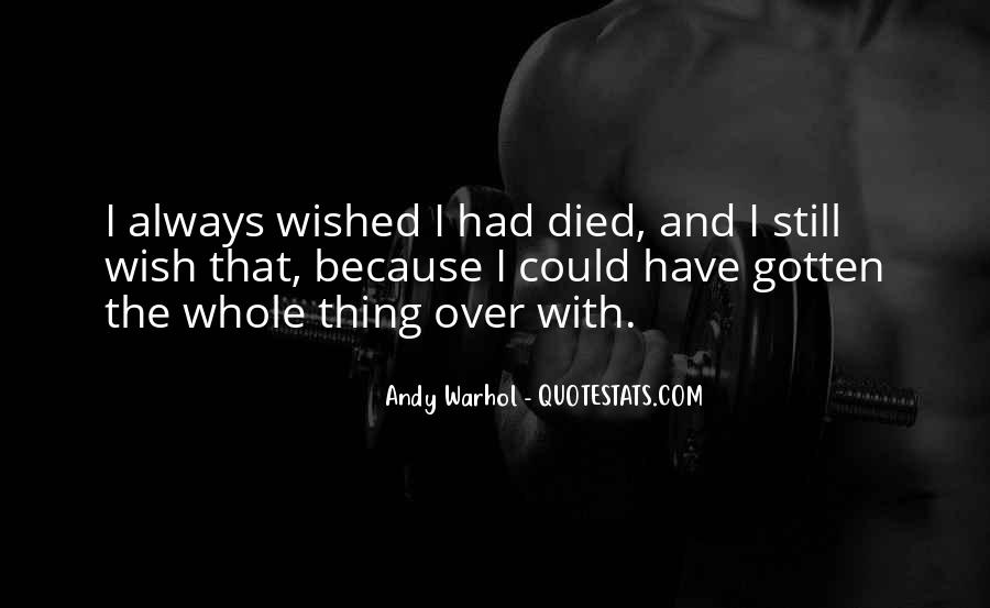 Andy Warhol Quotes #145097