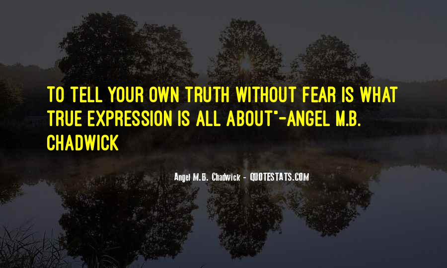 Angel M.B. Chadwick Quotes #1187174