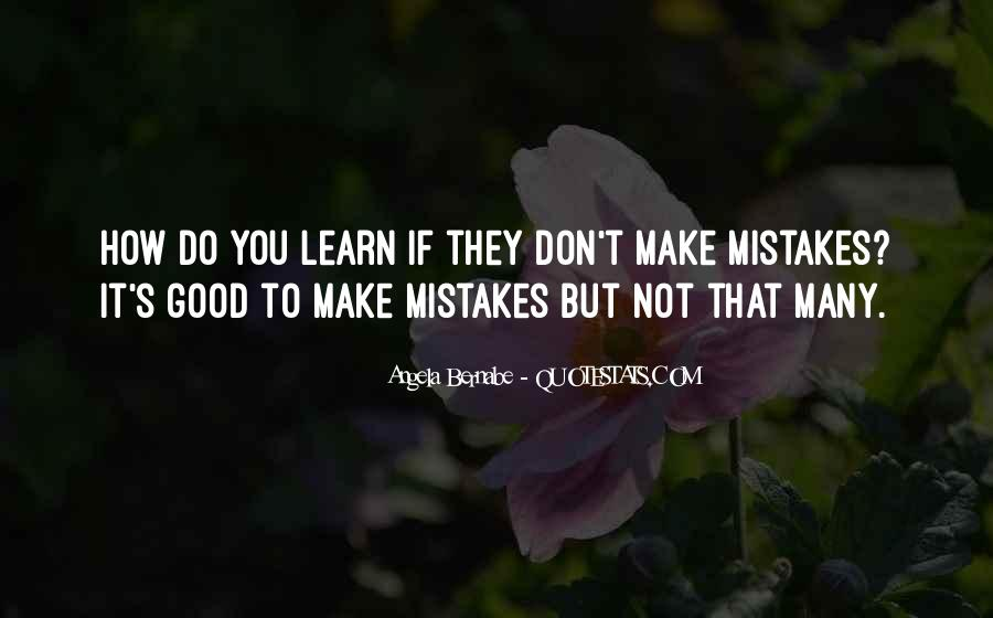 Angela Bernabe Quotes #988937