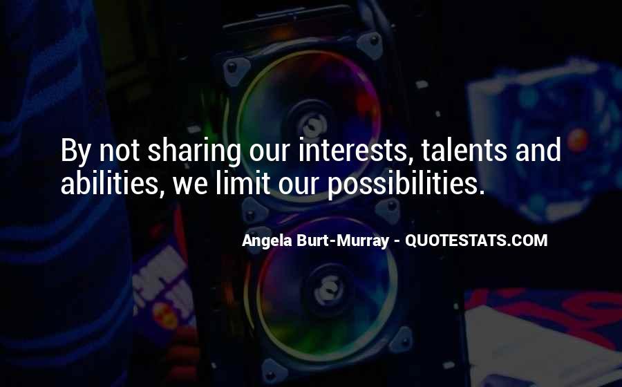 Angela Burt-Murray Quotes #1257619