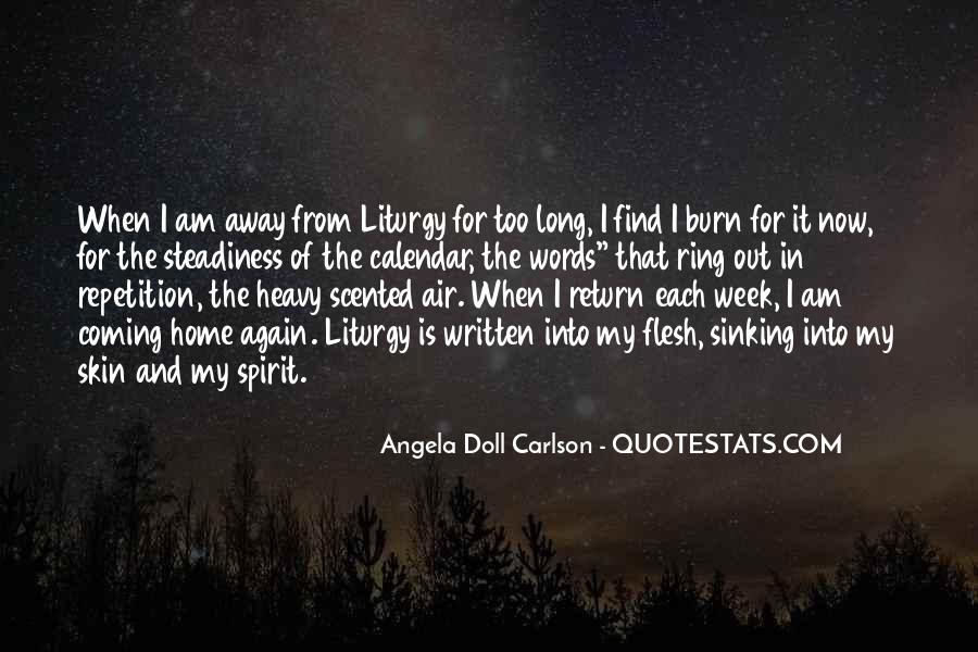 Angela Doll Carlson Quotes #259128