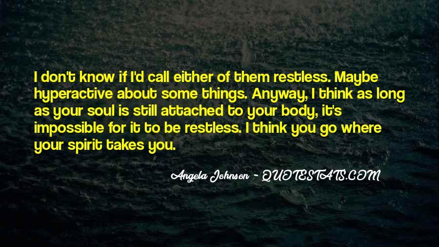 Angela Johnson Quotes #346951