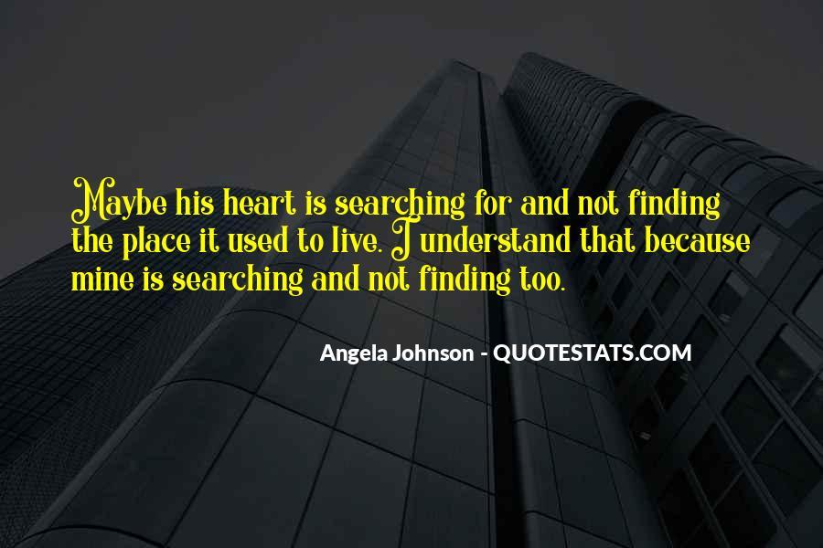 Angela Johnson Quotes #612479