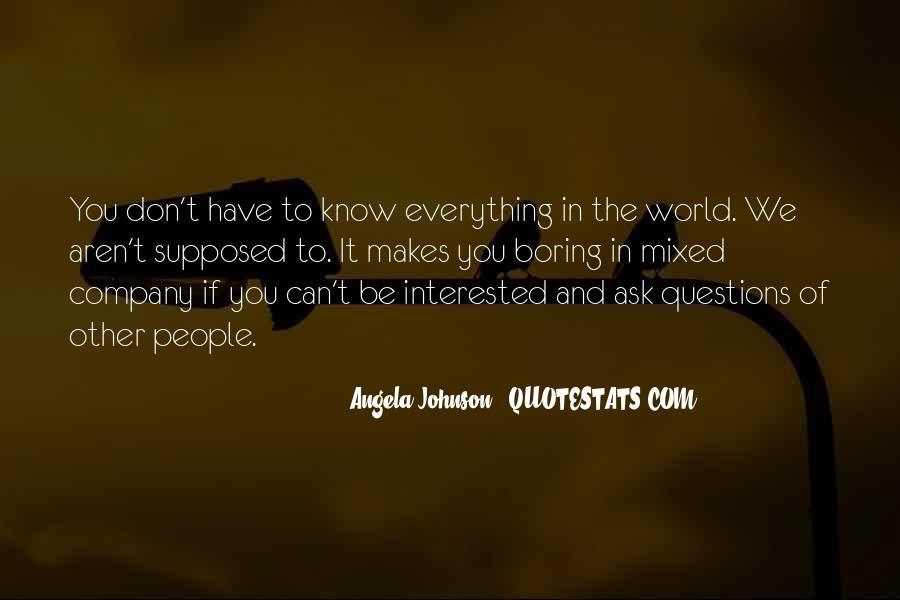 Angela Johnson Quotes #987824