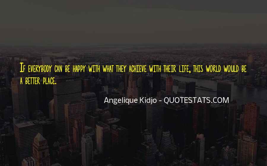 Angelique Kidjo Quotes #1185975