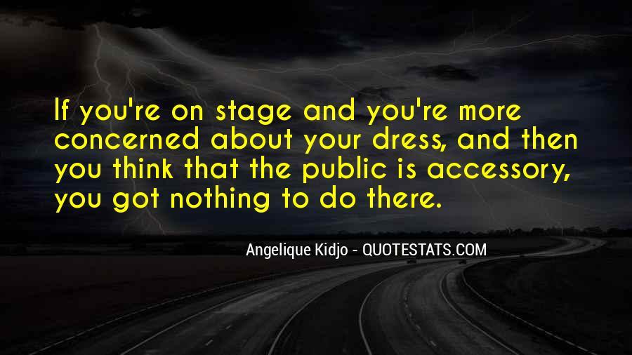 Angelique Kidjo Quotes #1200787