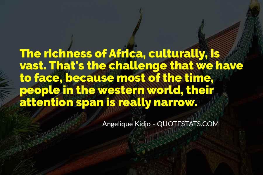 Angelique Kidjo Quotes #1236509