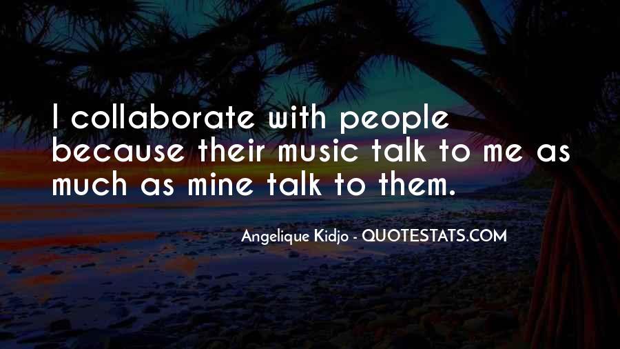 Angelique Kidjo Quotes #36894