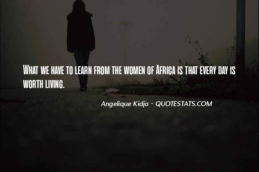 Angelique Kidjo Quotes #403194
