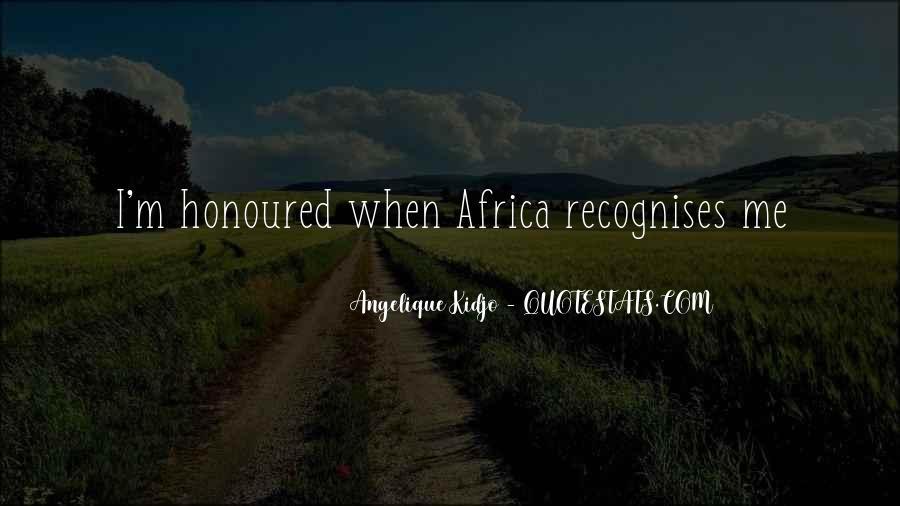 Angelique Kidjo Quotes #487186