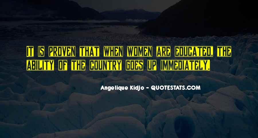 Angelique Kidjo Quotes #79419
