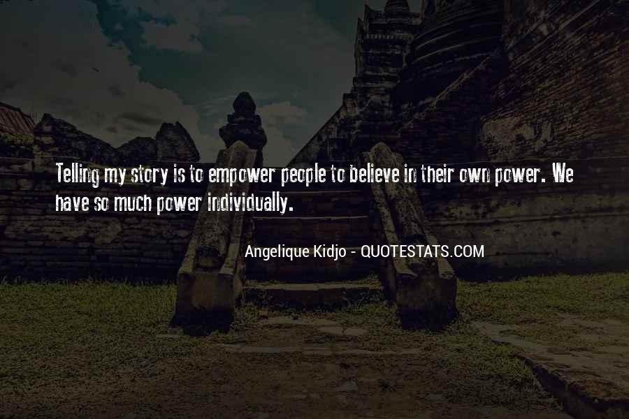 Angelique Kidjo Quotes #859084
