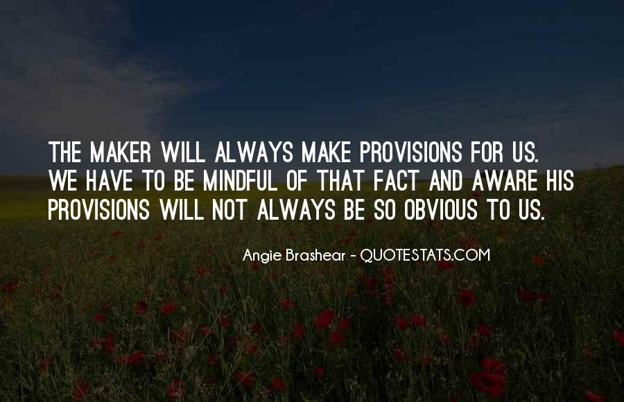 Angie Brashear Quotes #1787977