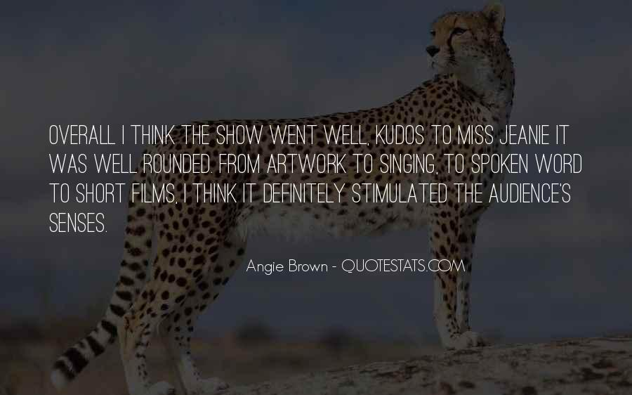 Angie Brown Quotes #111182